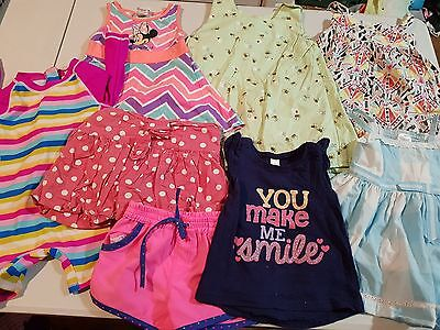 Girls Size 1 Summer Clothes, 8 items