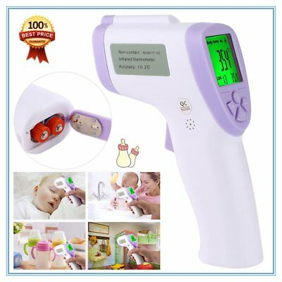 Body Skin Digital Non-contact Infrared IR Thermometer For Baby  Adult VP