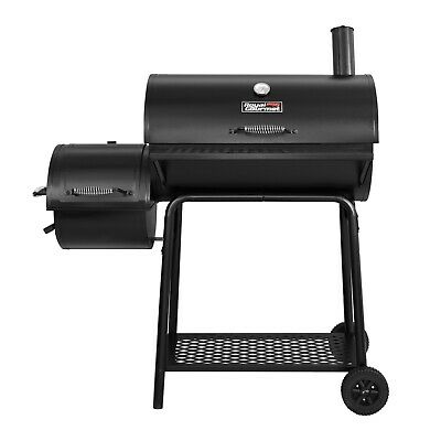 "Royal Gourmet BBQ Charcoal Grill Offset Smoker Backyard Cooking 30"" L"