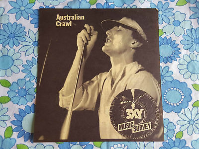 AUSTRALIAN CRAWL 1420 3XY radio station TOP 40 MUSIC CHART JANUARY 1980 survey