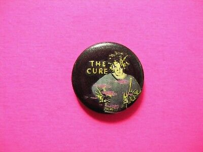 The Cure Vintage Button Badge Pin Us Made Robert Smith
