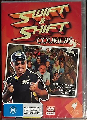 Swift And & Shift Couriers Series 2 (DVD, 2011, 2-Disc Set) BRAND NEW & SEALED