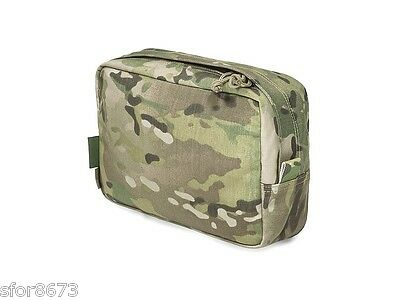Large Horizontal Molle Utility Pouch, Warrior Assault Systems Multicam™ Cordura™