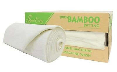 Roll of Quilt or Craft Batting, 100% Bamboo! 2.55 wide x 15metre. Whole Roll!