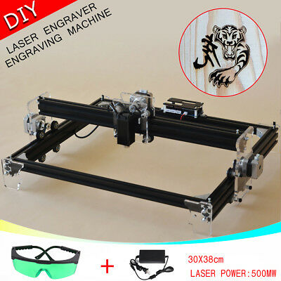 A3 Desktop Laser Engraver Cutter Engraving Cutting Machine Logo Carver Printer