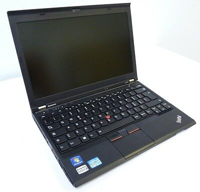 Notebook  Lenovo Thinkpad X230 Intel Core I5-3320M Ram 8Gb Hdd Ssd 180Gb Win 7