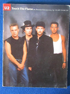 U2 - Touch The Flame - by Geoff Parkyn - Published in 1987