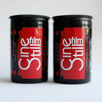 2 x GENUINE Cinestill Cine Still 800T 35mm Film UK SELLER = NO IMPORT TAX