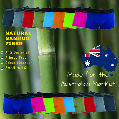 Mens Underwear - Organic Bamboo Trunks | Extra Large 9XL to Small Boxers Briefs