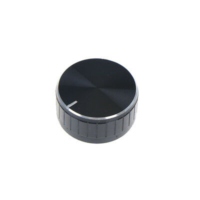 1x 40*17mm Volume Control Rotary Knobs Knurled Shaft Potentiometer Durable Well