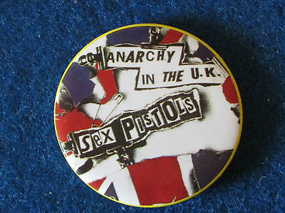 Sex Pistols Badge - Anarchy in the UK