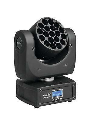 Eurolite LED tmh-19 Moving Head Beam 19x 3w rgbw MOVINGHEAD DMX LIGHT