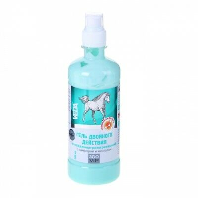 """Gel double action VEDA """"ZooVip"""", cooling-warming, with camphor and menthol, 500"""