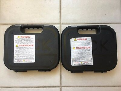 Glock Case with Manual