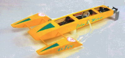 ASSASSIN. Outrigger. Modellbauplan RC
