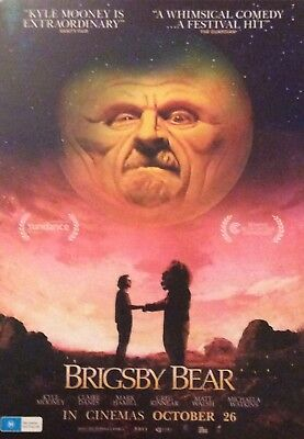 Promotional Movie Flyer For Brigsby Bear Kyle Mooney, Claire Danes, Mark Ha I'll