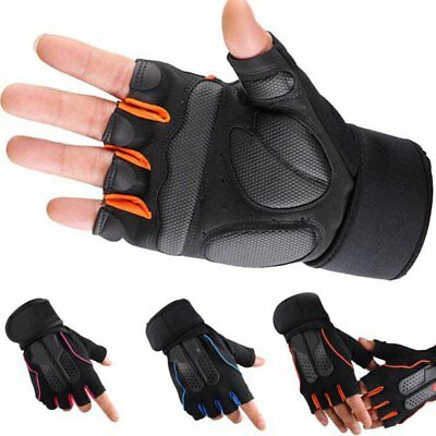 New Weight Lifting Gloves Gym Fitness Training Workout Exercise Cycling Wear UK