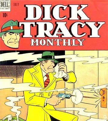 Dick Tracy Vintage Comics 227 Books Compilation on DVD US Comics