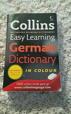 Collins Easy Learning German Dictionary by HarperCollins Publishers (Paperback,…