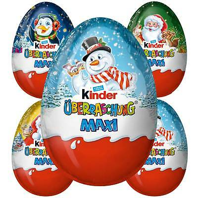 Kinder MAXI Chocolate Surprise Eggs DESICABLE ME 3 Limited Edition