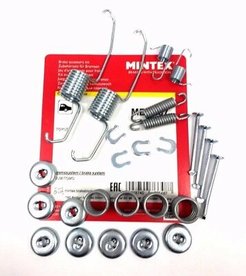 MBA678 Rear Drum Brake Shoe Fitting Accessory Kit Replacement Spare By Mintex