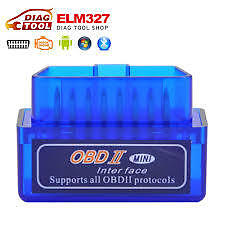 Bluetooth ODB2 Car Diagnostic Scanner Android Phone Tablet PC, OBD II Scan Tool.