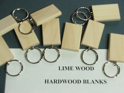 50mmx30mm LIME KEYRING BLANKS,PYROGRAPHY,ENGRAVING etc.12 FOR £7-99 INC post