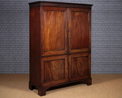 Antique George III Mahogany Wardrobe c.1790