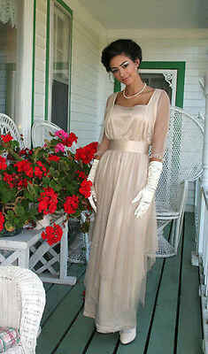 Downton Abbey Titanic Edwardian Regency Fashion Gown Dress Art Nouveau Modernist