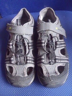 Karrimor Walking / Hiking Sandals - Black & Grey - Size 4 / EU 37