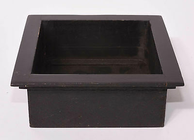 """6X6"""" square-cornered 2"""" recessed lensboard, 52.5mm hole (Compur #2)"""