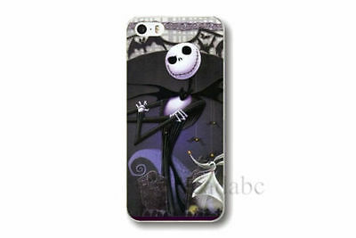 Jack Skellington Nightmare Before christmas iphone horror 5 5S cover free case