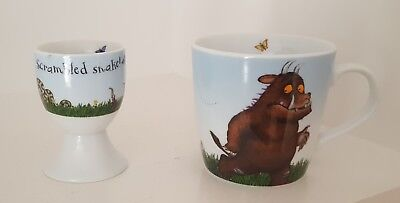 Gruffalo Childs Cup and Egg Cup. Wild & Wolf