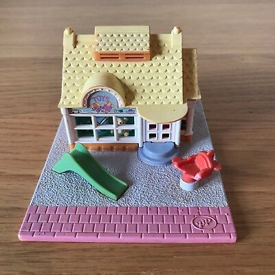 Polly Pocket Bluebird 1993 Toy Shop Tiny World Pollyville COMPACT ONLY