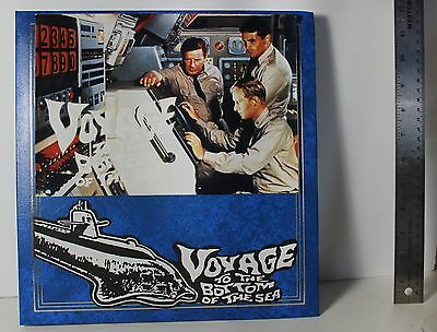 VOYAGE to the BOTTOM Of the SEA  AUTOGRAPHED 5 - 8 x 10s OOAK scrapbook