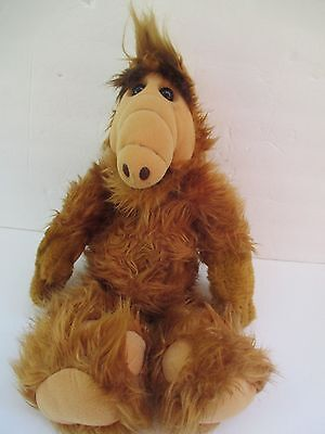 "1986 Alien Productions 18"" stuffed plush Alf doll Sometimes Slow Talking  5539"