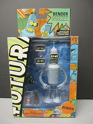 "Futurama 6"" Bender Figure - NEW MIB"