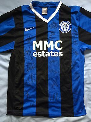 Rochdale FC Signed Shirt x19 - Crown Oil Arena 2016-17, Henderson, Noble-Lazarus