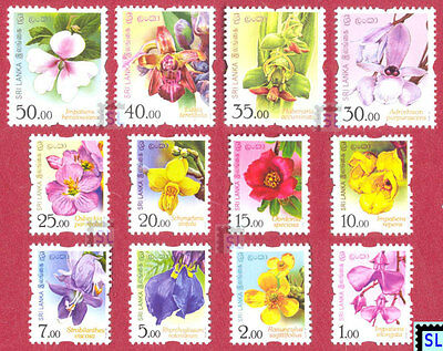 Sri Lanka Stamps 2016, Flowers, Orchids, Definitive, MNH