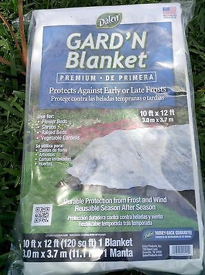 Dalen Garden GARD'N Blanket Frost Wind Protection 10' x 12' Plant Cover 120sqft
