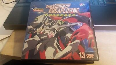 The Vision Of Escaflowne COMPLETE Anime English Subtitle 13 Disc Rare Video CD