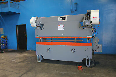 35 Ton x 8' Heim Power Press Brake  Sheet Metal Bender Former