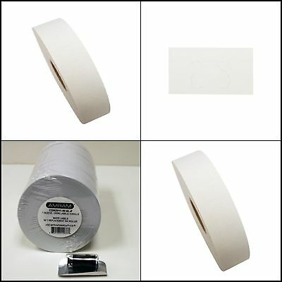 Price Labels Stickers For Monarch Paxar 1131 Label Gun 2500 Counts 8 Rolls White