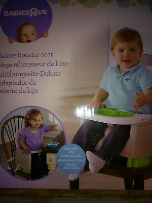 New Deluxe Feeding Toddler Booster Seat/ Fits At The Dining Table  6mth-2yrs.
