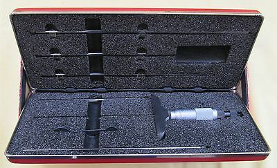 STARRETT MICROMETER DEPTH GAGE. Catalog No. 449A-6R