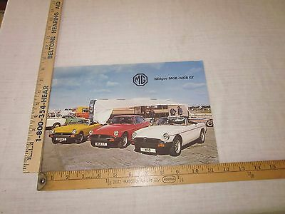1979? MG Midget, MGB, GT, Sales Brochure