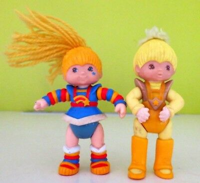 Rainbow Brite and Canary Yellow Figures 1983 Hallmark