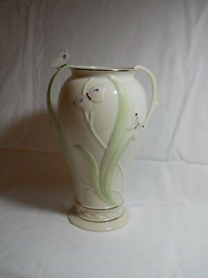 """2001 Lenox 10"""" Jeweled Butterfly Vase Excellent"""