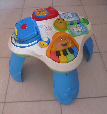 Fisher Price Laugh & Learn Fun w/ Friends Musical Table Activity Centre - GERMAN
