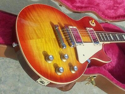 2016 Gibson Les Paul Standard Traditional Heritage Cherry Sunburst with Upgrades